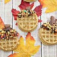 Fall Breakfast Ideas: Acorn Waffles