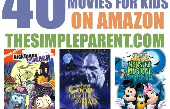 Halloween Movies for Kids on Amazon