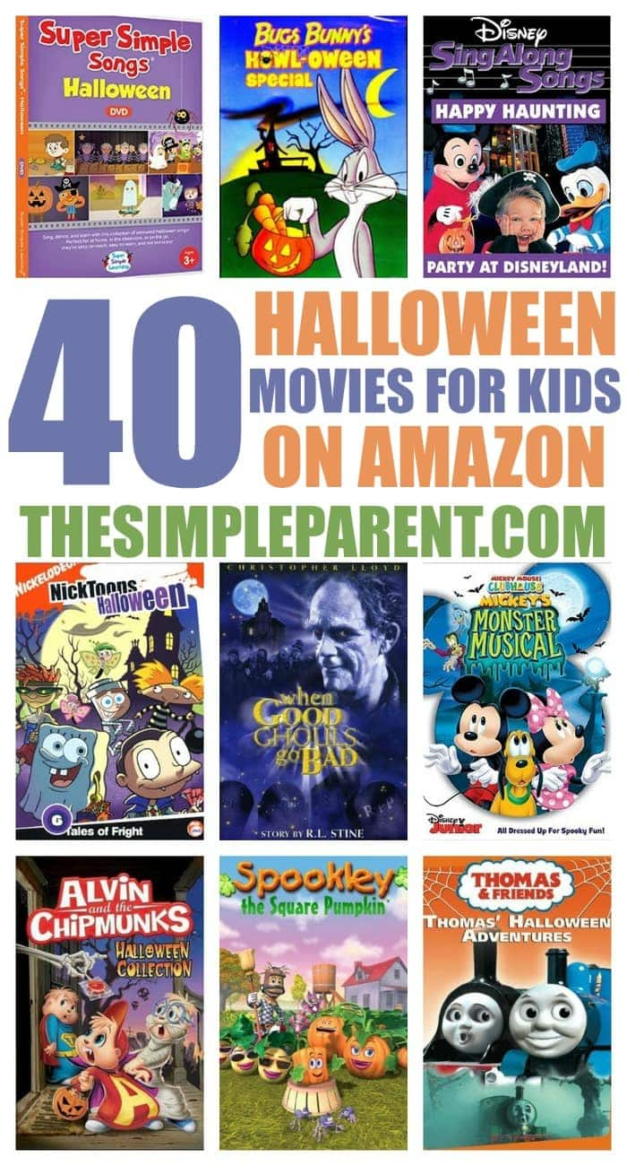 Halloween Movies for Kids on Amazon • The Simple Parent