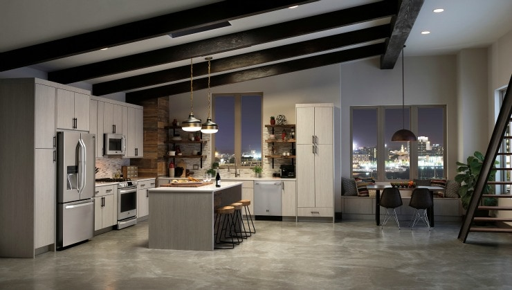 LG Studio Kitchen appliances are so beautiful!