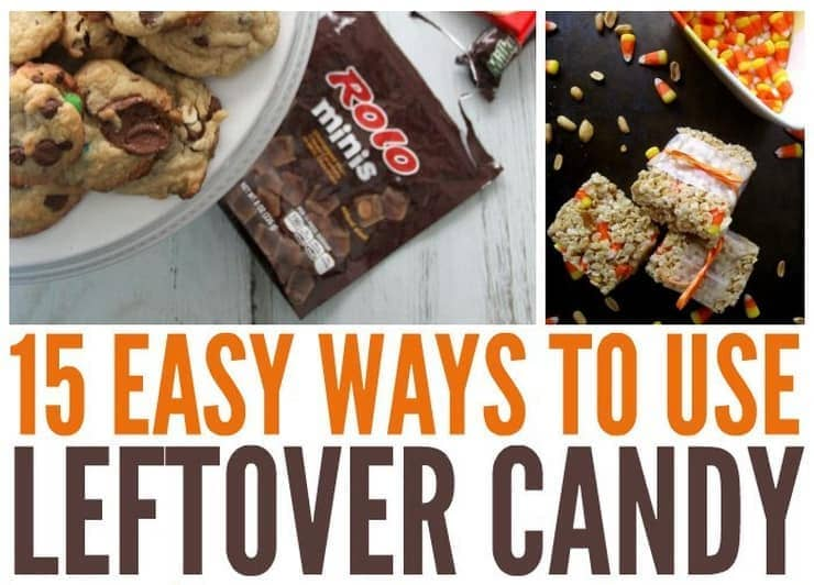 have extra halloween candy put leftover halloween candy to use with these leftover candy recipes - Easy Halloween Candy Recipes