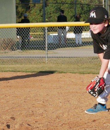 Do your kids play fall sports? This is our first year of little league baseball and I have to admit that I'm a little league novice!