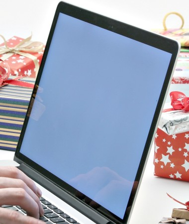 Online holiday shopping is a lifesaver for busy parents! But protect yourself this holiday shopping season with a few easy tips!