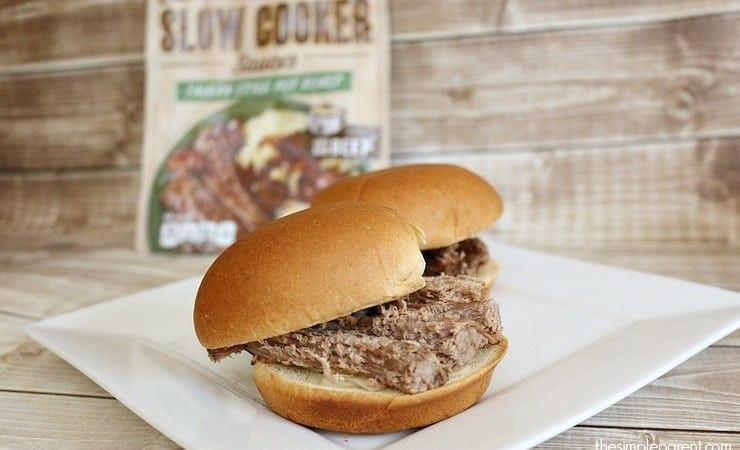 Slow Cooker Pot Roast Sliders for Game Day