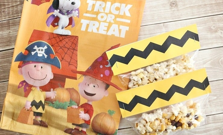 The Peanuts Movie Inspired Snack Mix (with Printable!)