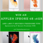 Enter the iPhone 6s Giveaway!