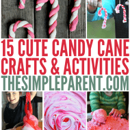 Candy Cane Crafts & Activities Make the Holidays Sweet!