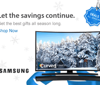 If you have family tech gifts on your holiday shopping list, make it easier this year with Samsung at Sam's Club!