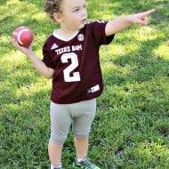 Our family enjoys spending time together on the weekends watching football. Game day traditions don't have to be complicated or take tons of time! Check out some of our tips for easy game day traditions!
