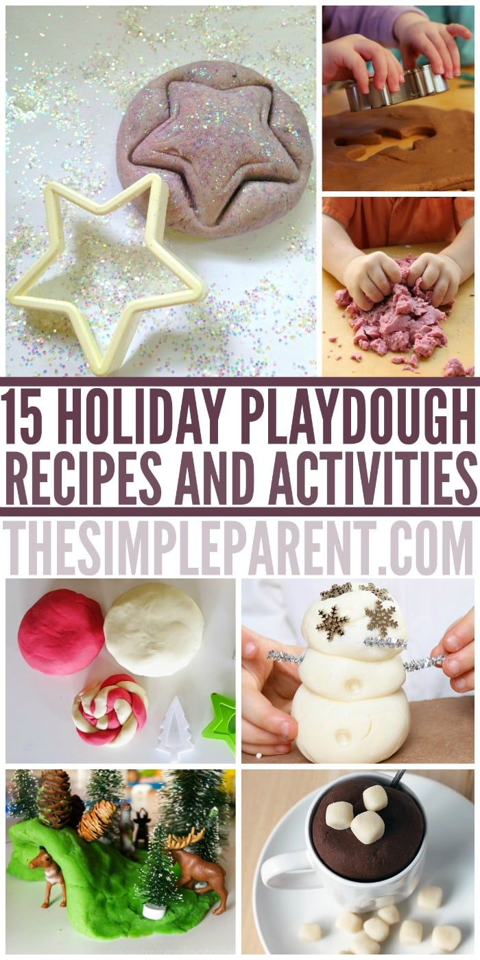Need to wrap gifts? Keep your kids busy with these holiday play dough recipes and activities! They'll have fun and you're get your Christmas gifts wrapped without their help!