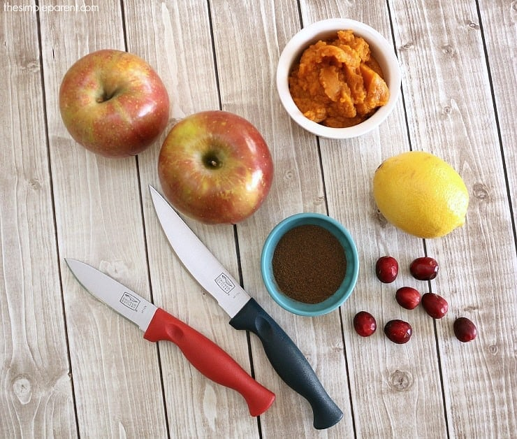 Making this homemade holiday applesauce recipe can be a great addition to your Thanksgiving meal plans or a fun way to get your kids in the kitchen with you this holiday season!