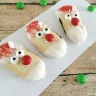 With No Bake Santa Cookies Even the Youngest Can Make Holiday Cookies!