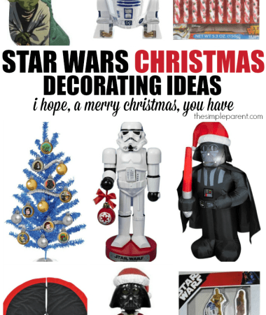 Have a merry Star Wars Christmas this year with some great Star Wars decorating ideas for your home!