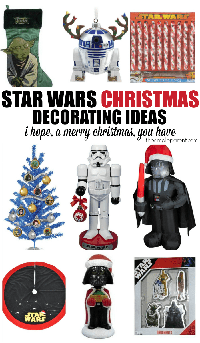 have a merry star wars christmas this year with some great star wars decorating ideas for - Star Wars Christmas Decorations