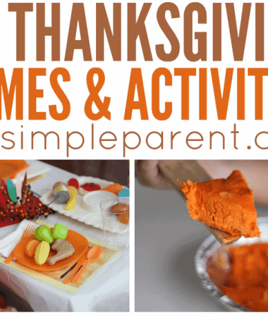 Try these Thanksgiving Activities for Families and make more memories to be thankful for!