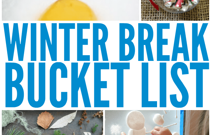 Blast Boredom with this Winter Break Bucket List for Kids