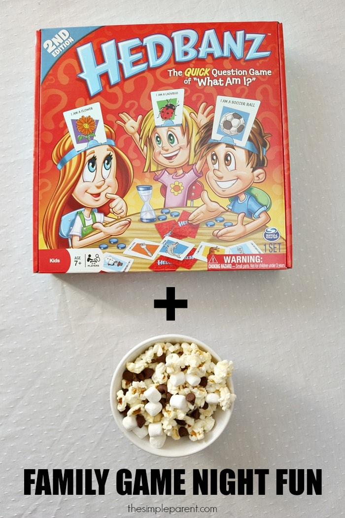 Plan Family Game Night Snacks and Games for an easy and wonderful way to spend time connecting as a family!