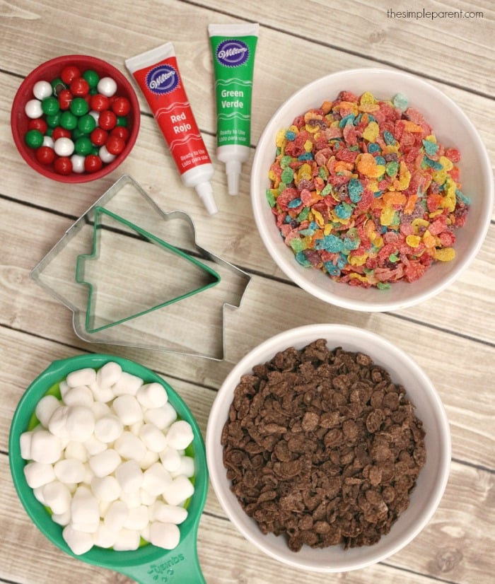 Gingerbread House Cocoa Pebbles Treats are fun to make and fun to eat!