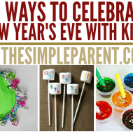 How to Have a Kid Friendly New Years Eve