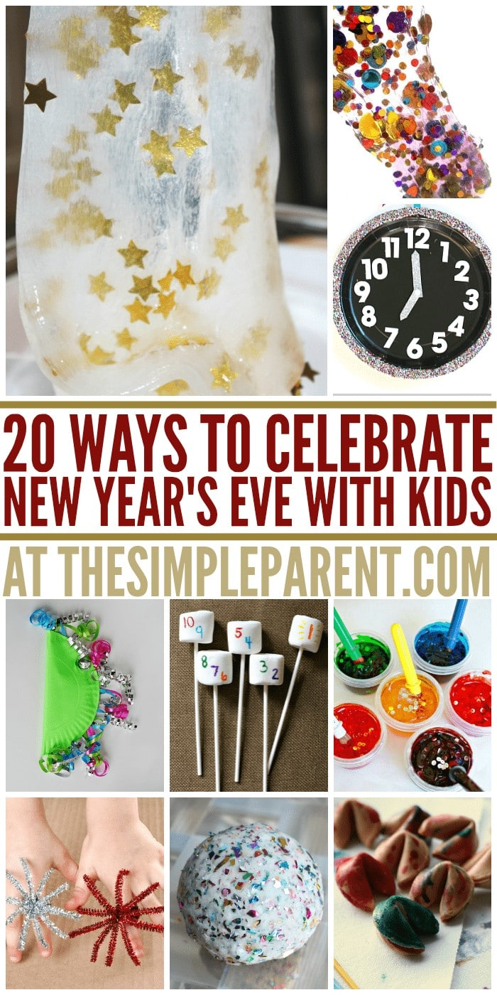 Check out how to have a kid friendly New Years Eve celebration with these fun things to do!