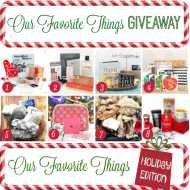 My Favorite Things Holiday Giveaway 2015