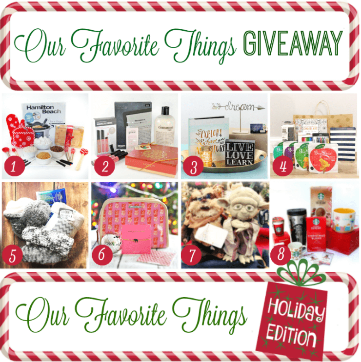 Enter to win some of my Favorite Things of 2015! Yes, it's all about the Star Wars here with this holiday giveaway!