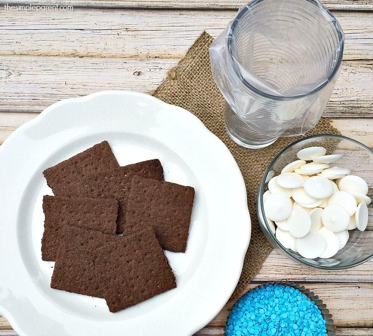 Chocolate Graham Crackers Dunmore Candy Kitchen: Easy Snowflake Graham Cracker Snacks