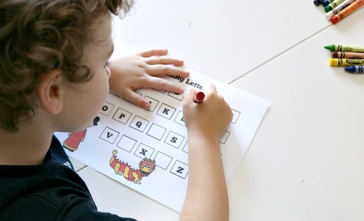 Chinese New Year Printables for Preschoolers