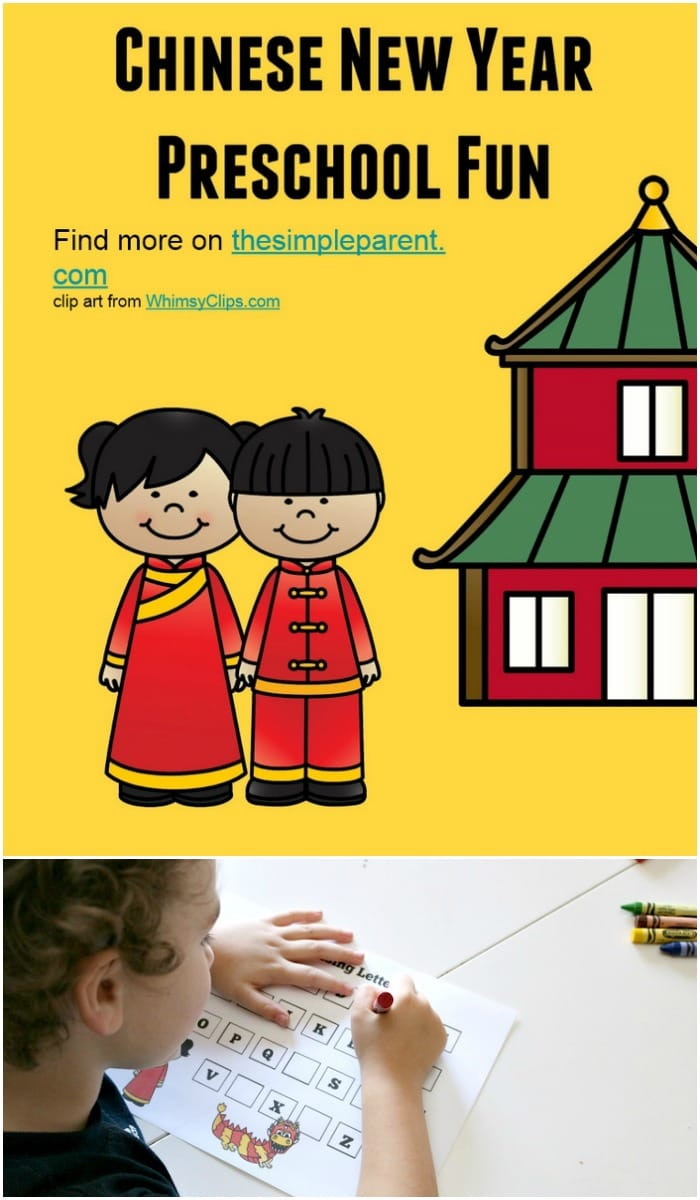 Learn about the holiday and practice basic preschool skills with our free Chinese New Year printables for preschoolers!