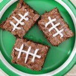Learn How to Make Football Brownies for the Big Game!