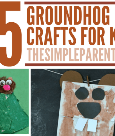 Will he see his shadow or not? It doesn't matter with these fun Groundhog Day crafts to do with the kids!