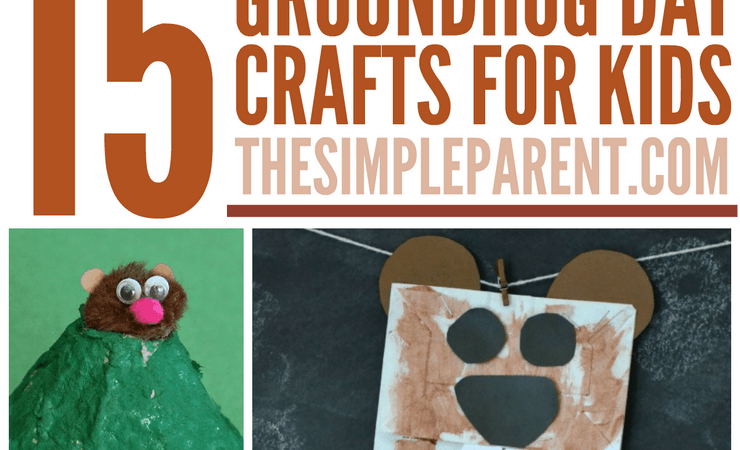 Groundhog Day Crafts for Kids (Whether He Sees His Shadow or Not!)