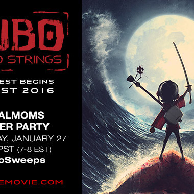 Join me for the #KUBOSWEEPS Twitter party to chat about Kubo and the Two Strings!