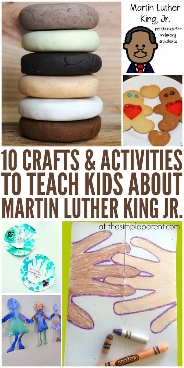 neat craft ideas 11 educational martin luther king jr activities for 2541