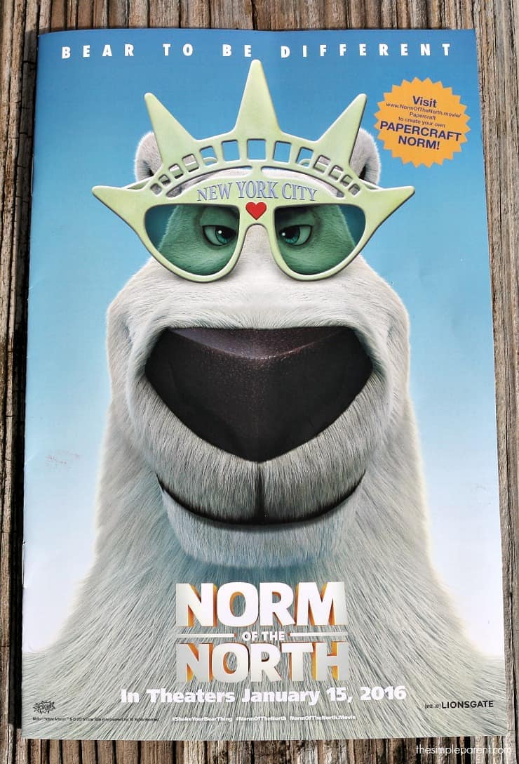 Go see Norm of the North and then take on some easy adventures for kids!