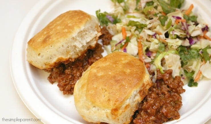 Make Sloppy Joe Biscuit Casserole for Your Family!