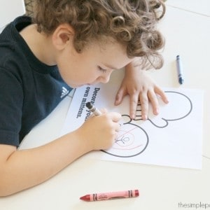 Counting Mittens Winter Printables for Preschool
