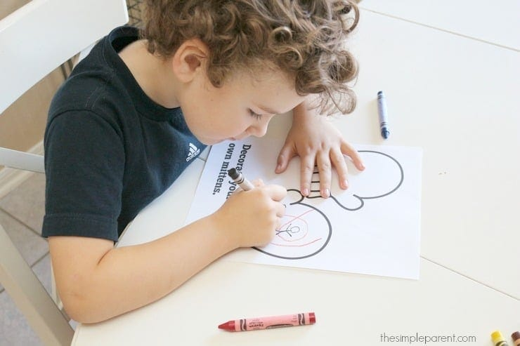 Print this winter printable activity to keep your kids busy on cold days!