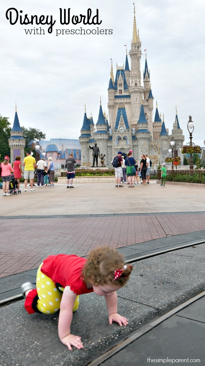 With some planning and flexibility, Disney World with preschoolers can be a memory making vacation of a lifetime!
