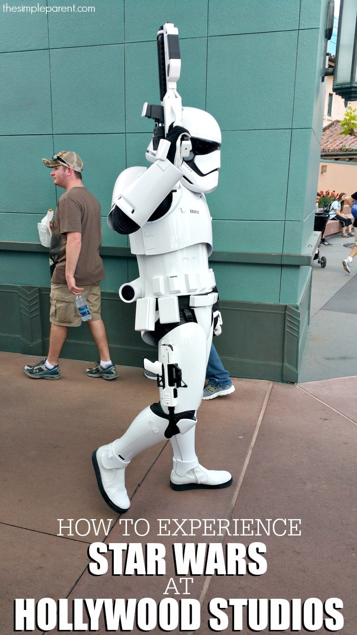 Check out some easy ways to experience Star Wars at Hollywood Studios!