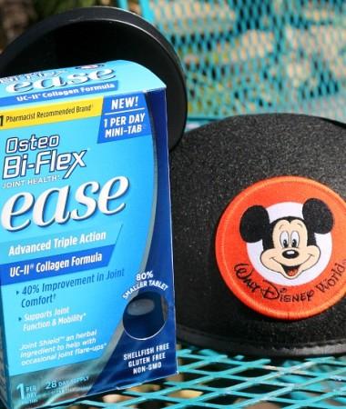Osteo Bi-Flex helped me make walking easy at my Disney World vacation.