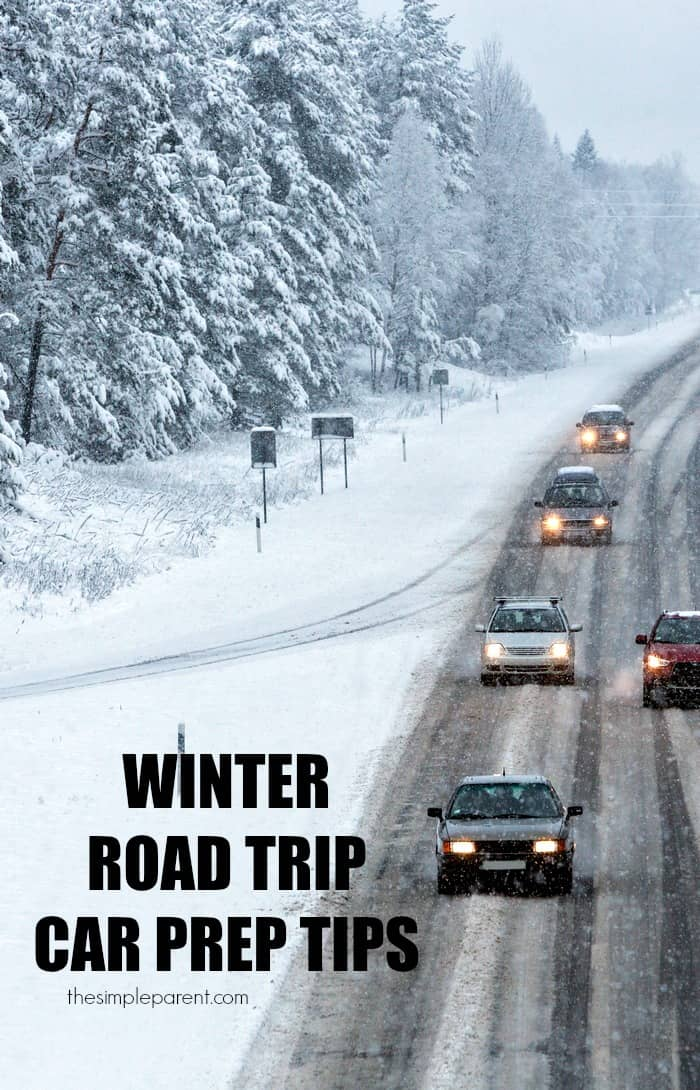 Planning to take a winter road trip with your family? Don't forget about the family car! It needs to be just as prepared.