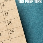 Year Round Tax Preparation Tips for Families