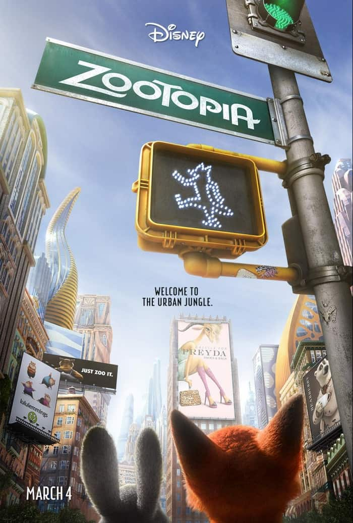 Zootopia will be playing in Dolby Cinema at AMC Prime theaters for one week only, so be sure to catch it opening week!