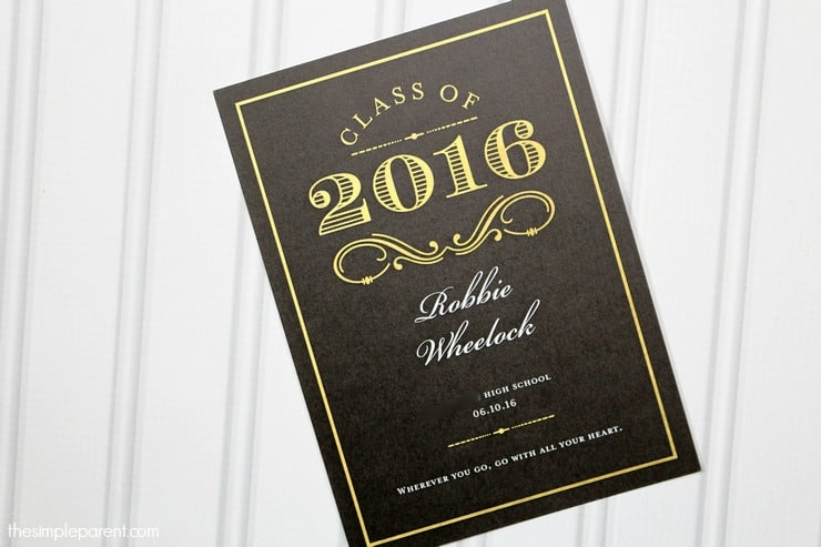 These easy Graduation Celebration ideas will make it special and personal! It doesn't have to be complicated to be amazing!