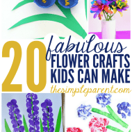 Fabulous Flower Craft Ideas for Spring! Or Mother's Day!