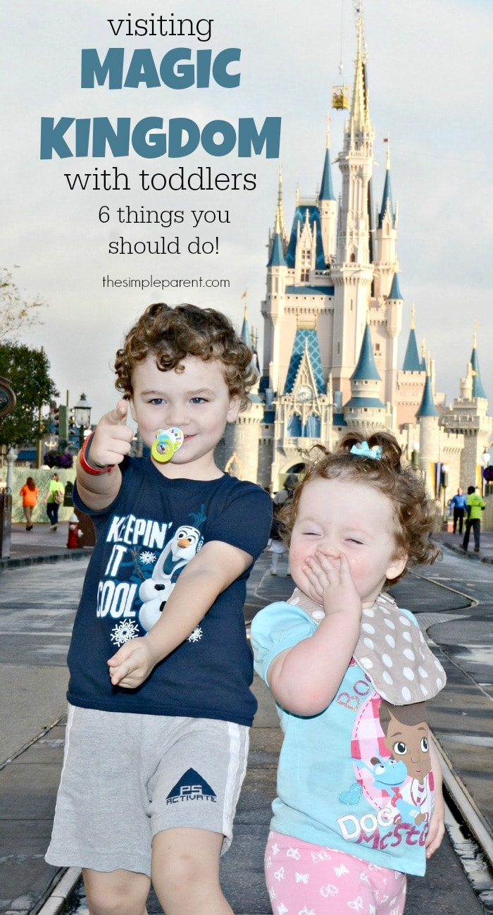 Traveling to the Magic Kingdom with Toddlers? Try some of these fun things to do with the younger Disney fans!
