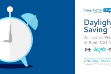 Join the #SNSweepstakes Sleep Better Chat Twitter Party on 3/9!