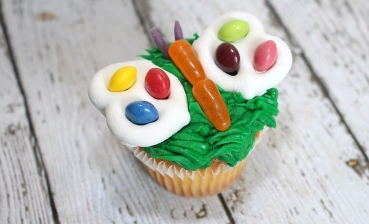 Learn How to Make Fun Butterfly Cupcakes