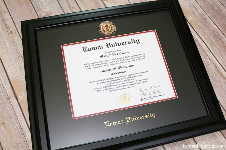 finding meaningful graduation gifts is an important part of any graduation - Diploma Frames Target